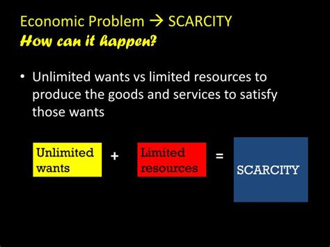 economic systems scarcity unlimited wants vs limited resources ppt video online download ppt kebutuhan dan keinginan powerpoint presentation id 3154629