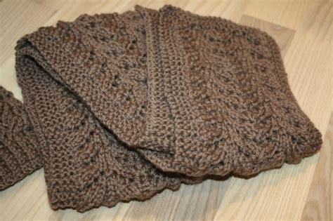 Modèle D écharpe à Tricoter