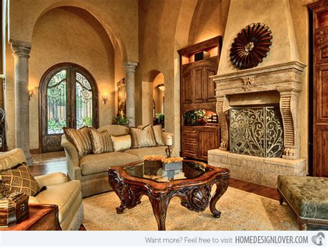15 stunning tuscan living room designs decoration for house