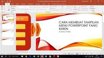 design template pada powerpoint digunakan untuk cara membuat animasi menu pada powerpoint keren youtube