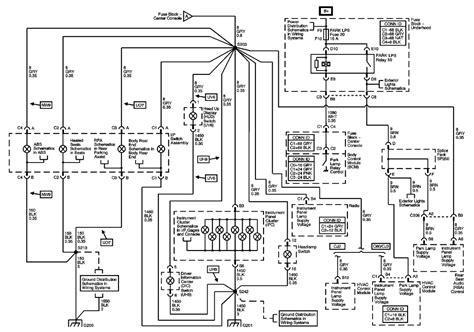 diagram 2004 buick rendezvous diagram free engine image