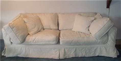 rare rachel ashwell shabby chic slipcovered sofa couch ebay