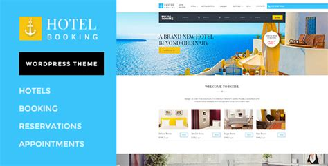 theme wordpress free hotel hotel booking wordpress theme for hotels by wpmines