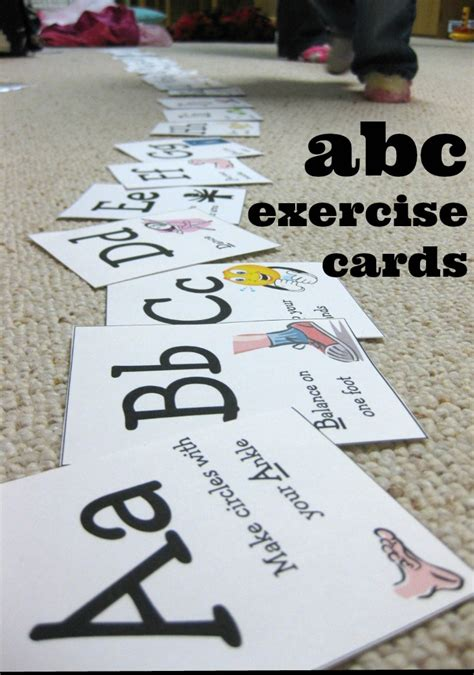 printable abc exercise cards abc exercises for kindergarteners alphabet tracing