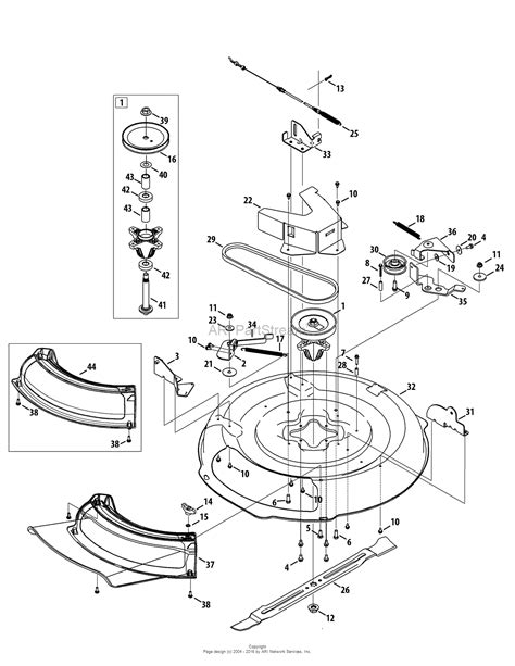troy bilt lawn mower belt diagram troy bilt 13a226jd066 2012 tb30 r neighborhood rider