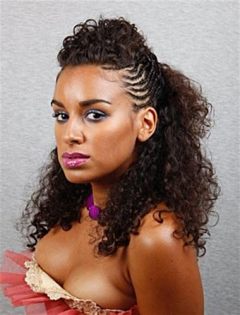 half up half down hairstyles on natural hair half up half down natural hairstyles the style news network