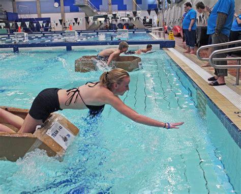 cardboard boat test cardboard boat race tests students skills palliser