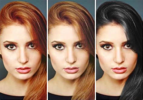 hair color changer how to change hair color in photoshop