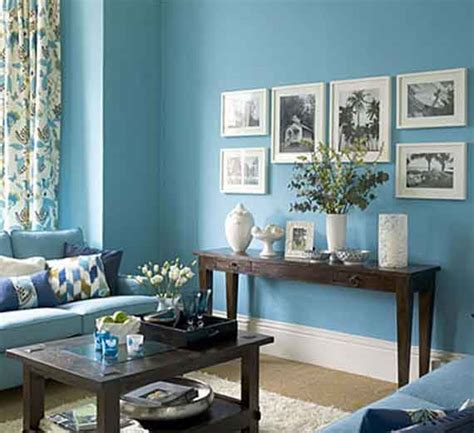 Blue Walls Living Room by How To Decorate An L Shaped Room Walls And Floors