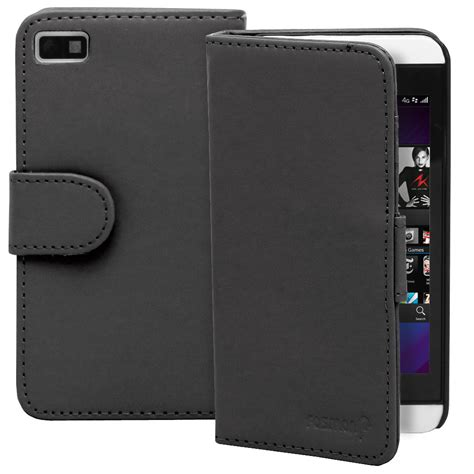 Newcase Flip Cover For Blackberry Z10 luxury flip folio pu leather wallet pouch cover for