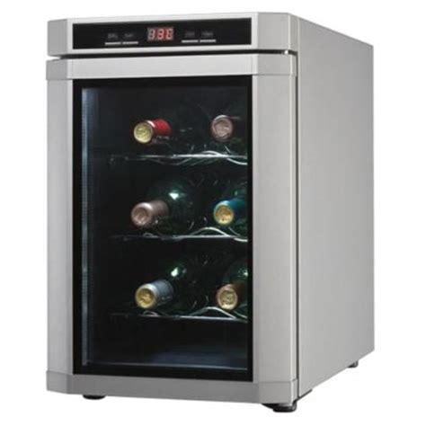 danby 6 bottle thermoelectric countertop wine cooler