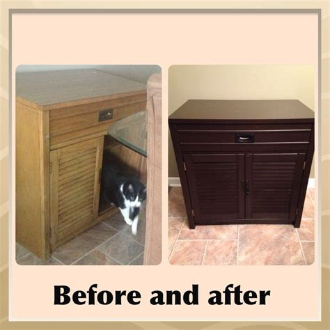 Gel Stained Cabinets Before And After by General Finishes Java Gel Stain Makeover Before And After