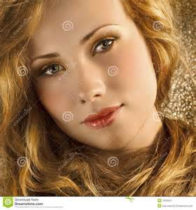 golden hair royalty free stock photography image 12835647