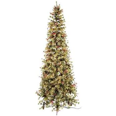 hobby lobby white flocked christmas tree 9 fast shape slim snow needle pine with lights hobby lobby 5064001