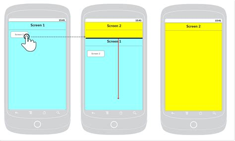 android animate layout height change android make new activity appear behind old one during
