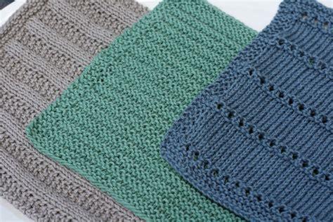 Independent Kitchen Designer kitchen dishcloths 4 knitting patterns and crochet