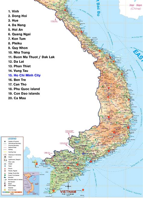 printable maps vietnam maps northern and southern vietnam sites northern