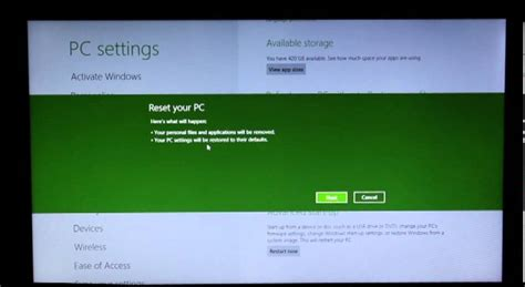 factory reset to windows 8 windows 8 factory reset tutorial doovi