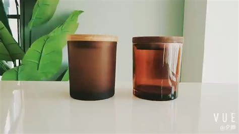 colored jars wholesale customized colored recycled glass candle jars wholesale