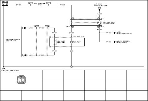 wiring diagram for a 2003 mazda 6 diagram free printable