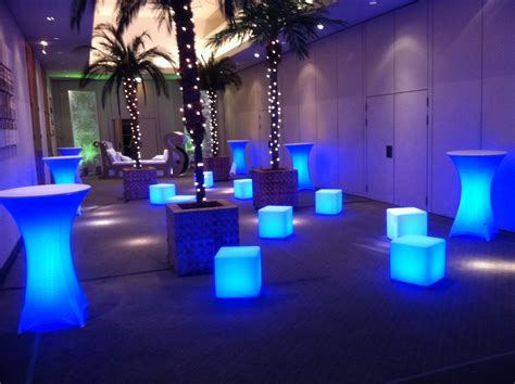 Event Furniture Hire Durban   lighted furniture