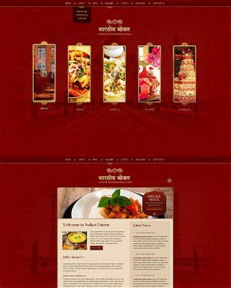 bootstrap templates for hindu temples restaurant templates from www bootstrap template com