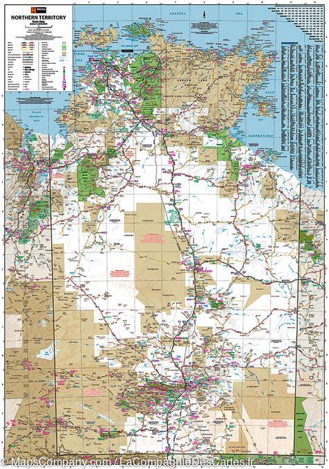 map northern australia northern territory australia road map hema maps