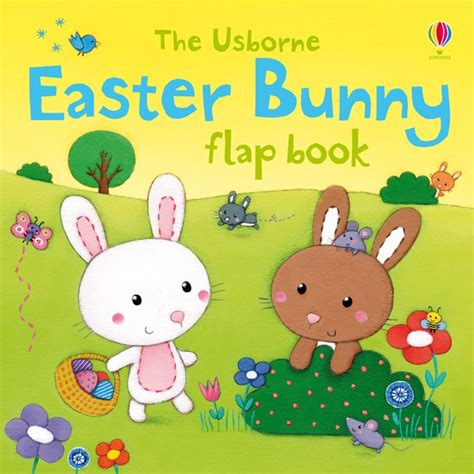 easter bunny book easter bunny flap book at usborne children s books