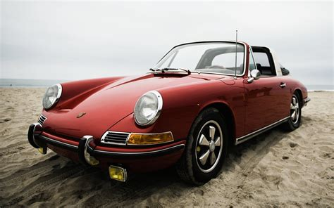 Old Porsche by Old Porsche On The Beach Wallpapers And Images