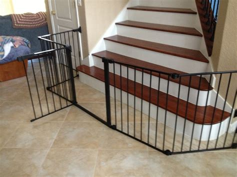 stair gates for banisters child gate for stairs with banister neaucomic com
