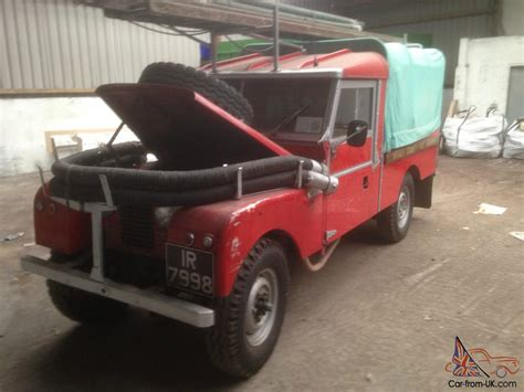 1956 series 1 land rover 109 quot engine