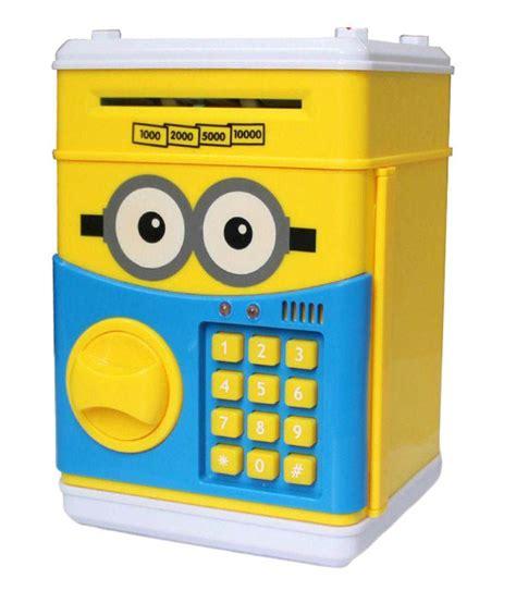 Saving Box Bank Minion sheeshaa piggy bank coin can password atm money box banks coin jar saving