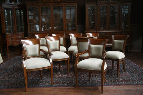 Chairs Dining Room Mahogany Dining Room Chairs With Upholstered Back Ebay