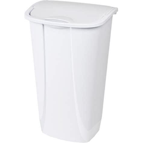 swing top wastebasket sterilite 11 gal swing top wastebasket by sterilite at