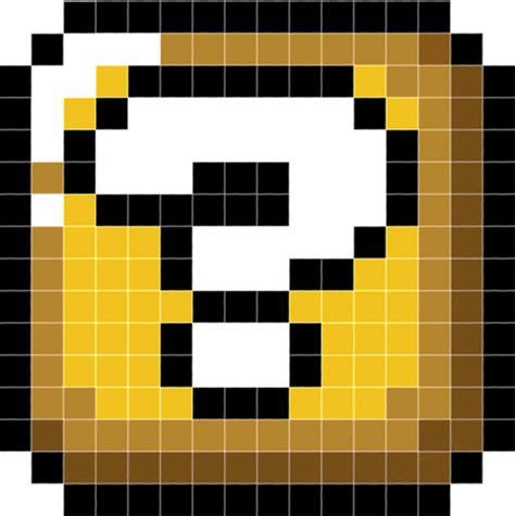 mario mystery box pixel minecraft project