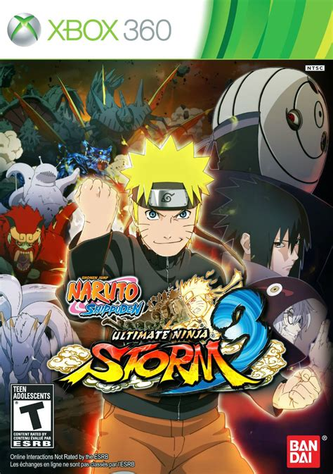 film naruto ultimate ninja storm 3 naruto shippuden ultimate ninja storm 3 xbox 360 ign
