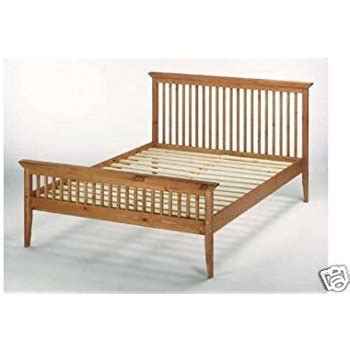 shaker bed frame 4ft6 135cm shaker wooden bed frame co uk