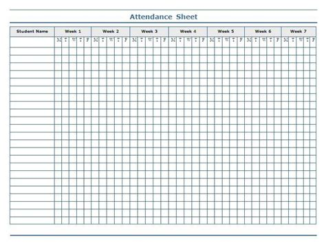 17 best ideas about attendance sheets on pinterest
