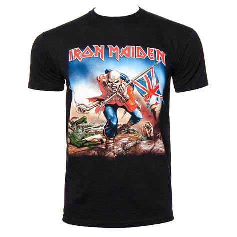 T Shirt Oceanseven Iron A iron maiden trooper t shirt iron maiden band merch