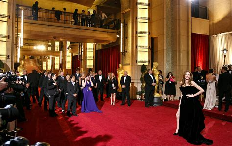 Im In Los Angeles For The Oscars by 2012 Academy Awards Carpet Arrivals Framework