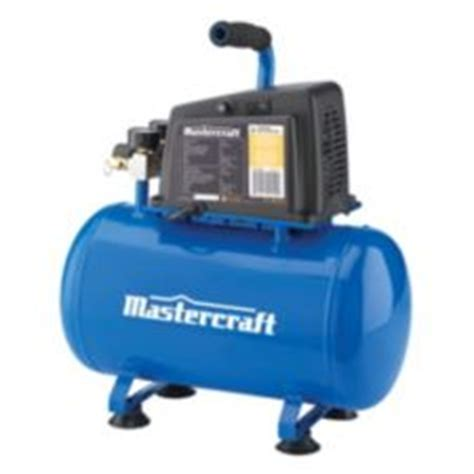 mastercraft 3 gallon air compressor canadian tire