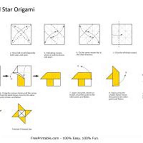 printable ninja star instructions origami printable instructions