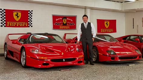 David Lee?s Ferrari Collection Will Make You Stay in