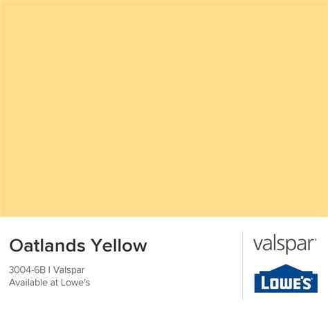 oatlands yellow from valspar paint colors