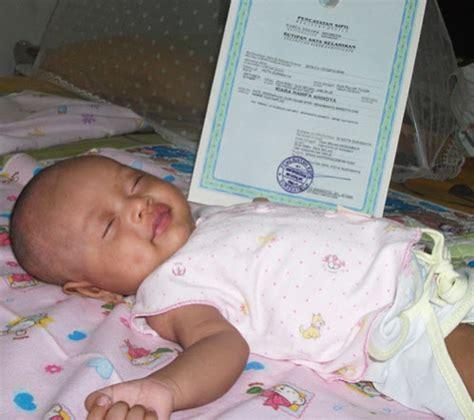 pembuatan akta kelahiran anak akta kelahiran pembuatan baru dispenduk ngawi