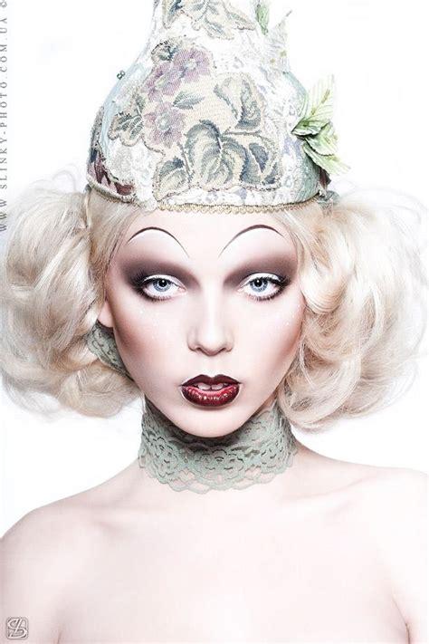 beauty garde pasty pale avant garde beauty makeup my threads pinterest