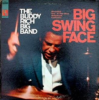 buddy rich big band big swing face in dangerous rhythm cathy rich the beat goes on