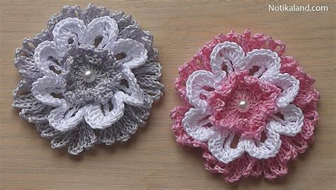 Notikaland Crochet Patterns notikaland crochet flowers