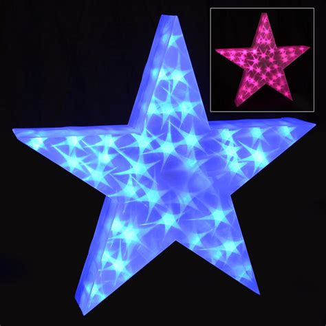 starlight led lights holographic led light up 50cm decoration