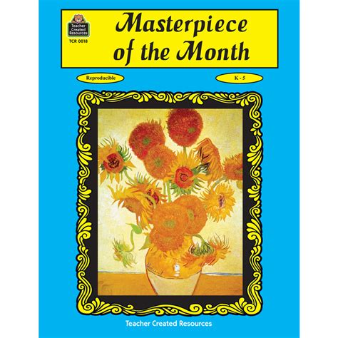 the masterpiece books masterpiece of the month tcr0018 created resources